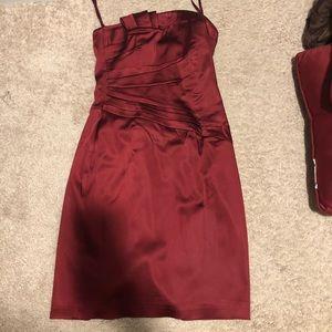 Size 2 maroon dress